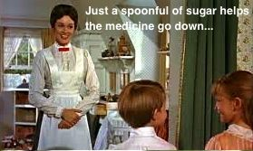 Just a spoon full of sugar