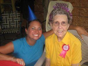 mamma turns 91