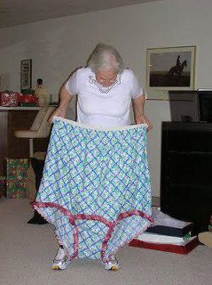 old lady big girl panties