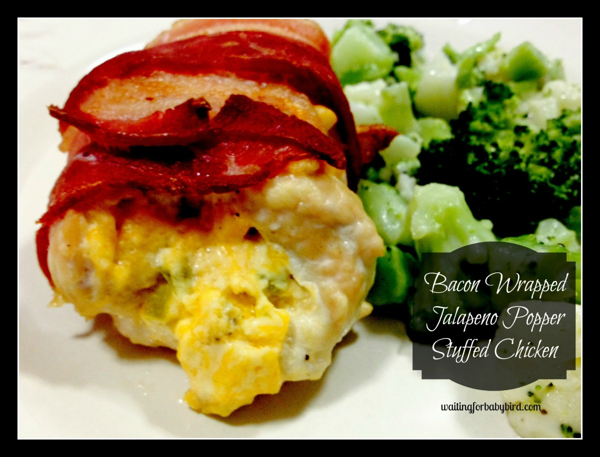 Low Carb Bacon Wrapped Jalapeno Popper Stuffed Chicken ...