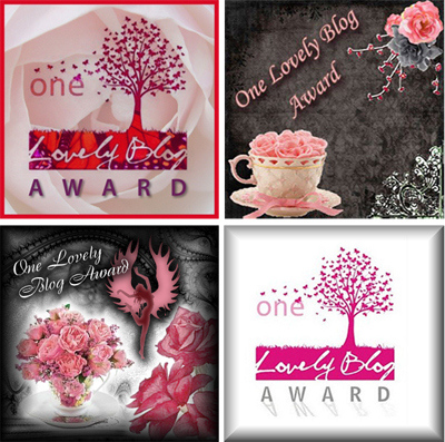 Onelovelyblog award