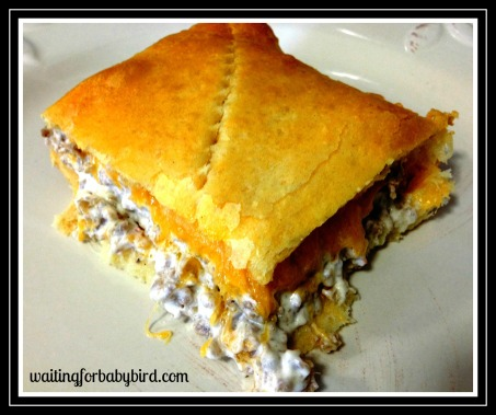 Sausage and Cheese Squares