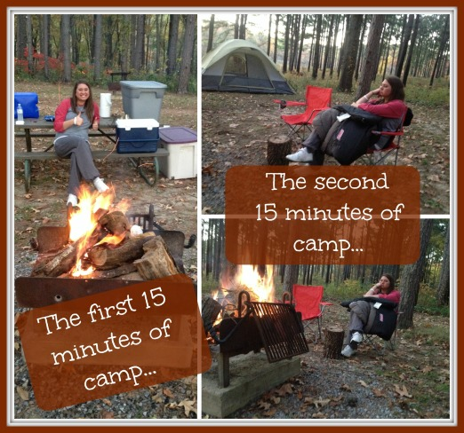 first and second camp