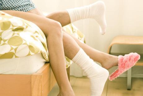 legs and socks