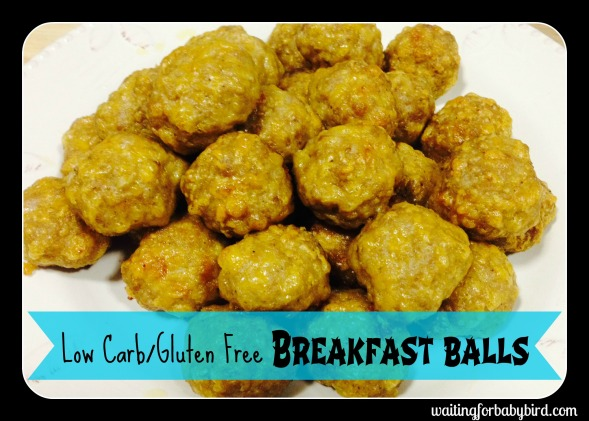 low carb gluten free breakfast balls two