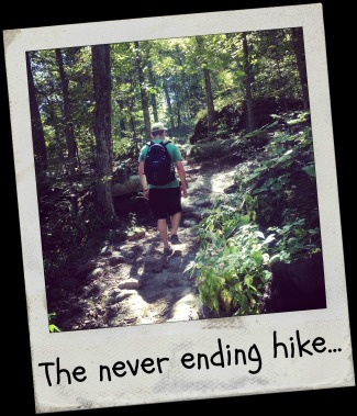 The never ending hike