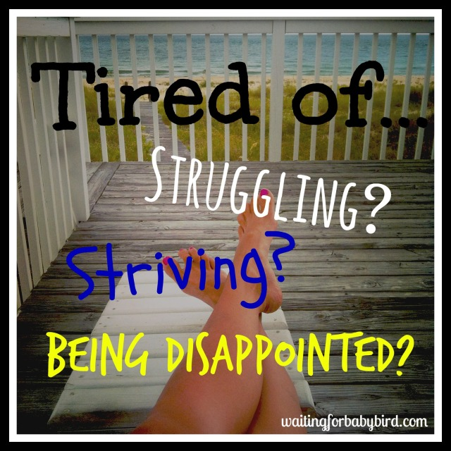 Tired of...