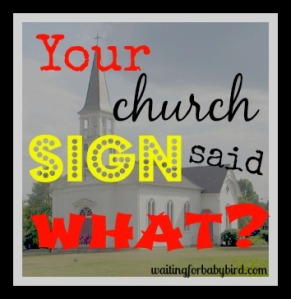 your church sign 3