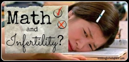 math and infertility
