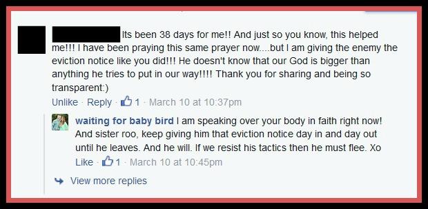 38 days eviction