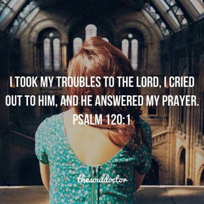 I took my troubles to the Lord