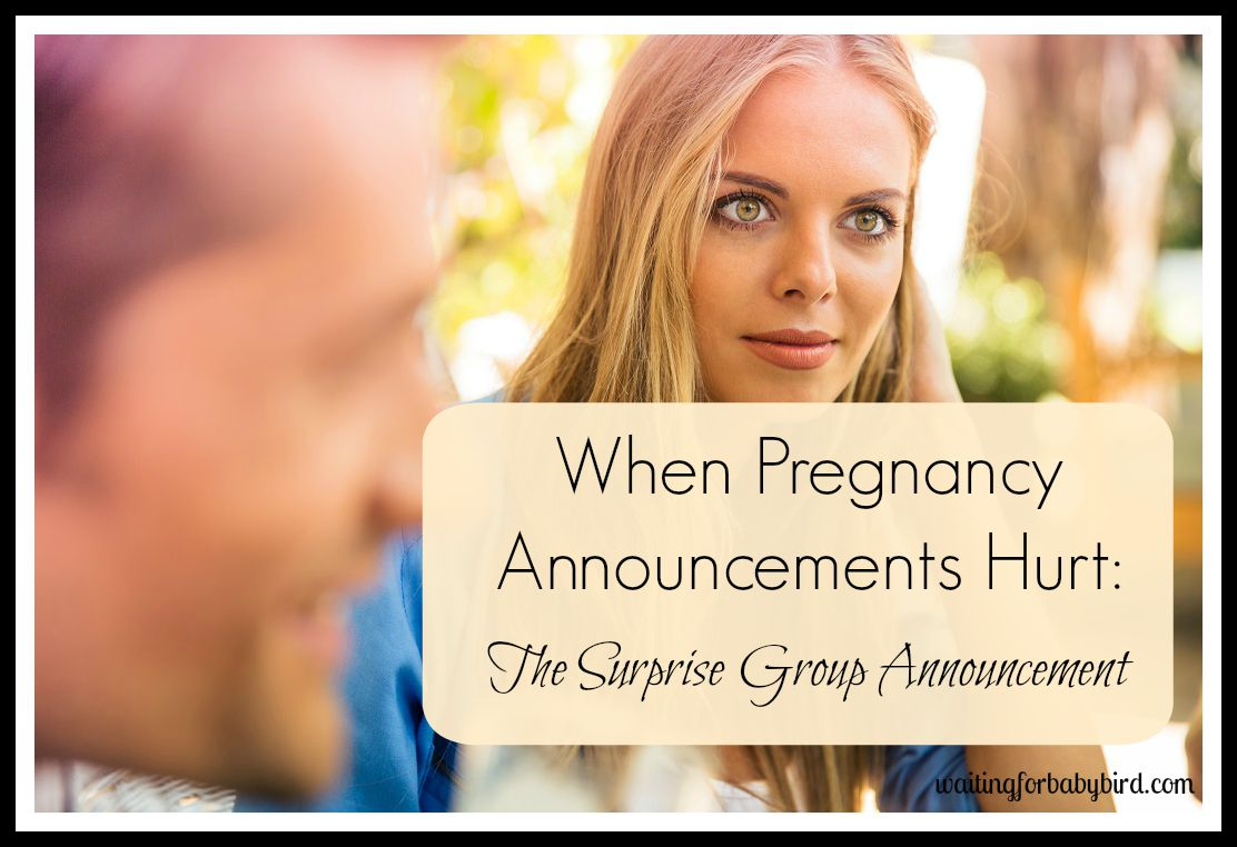 words to announce pregnancy