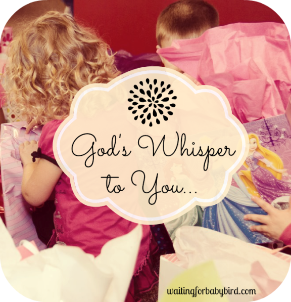 God's Whisper to You