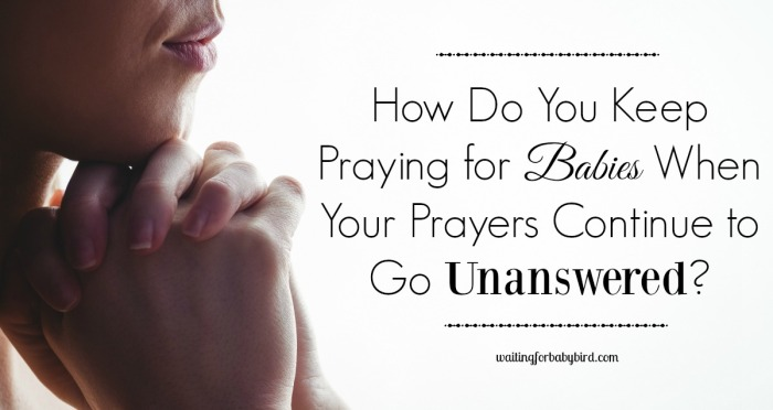 How do you keep praying 2